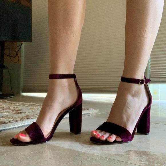 70664b21b3 Ivanka Trump Shoes   Velvet Heel   Poshmark